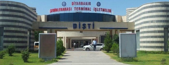 Diyarbakır Şehirlerarası Otobüs Terminali is one of Tempat yang Disukai 🇹🇷.
