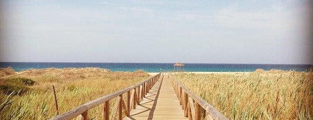 Playa de Atlanterra is one of Top 10 favorites places in Zahara de los Atunes.