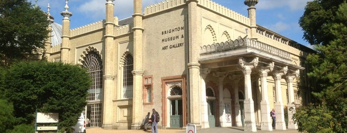 Brighton Museum & Art Gallery is one of Brighton.