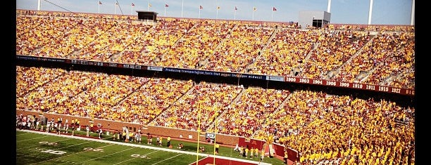TCF Bank Stadium is one of FBS Stadiums.