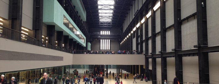 Tate Modern is one of İngiltere.