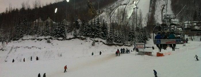 Ski areál Čertova hora is one of Orte, die Deedee gefallen.