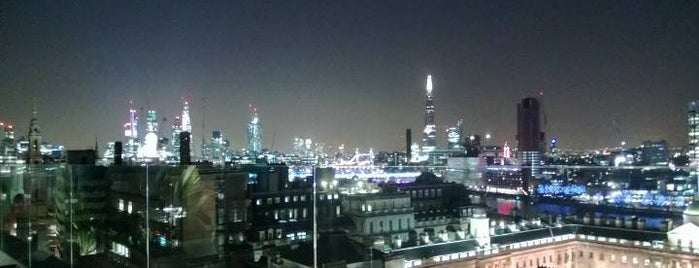 Radio is one of The Best London Bars With A View.