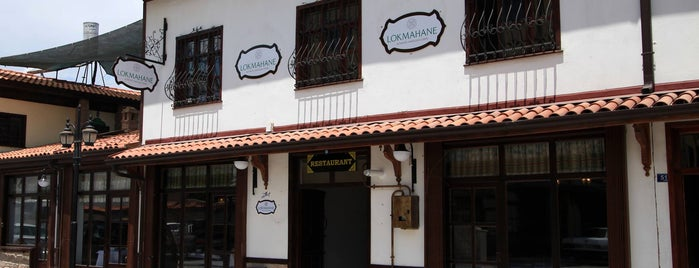 Lokmahane Restaurant is one of türkiye lokantaları.