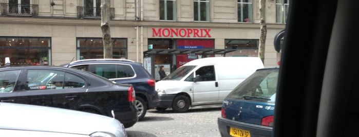 Monoprix is one of Lieux qui ont plu à Gilles.