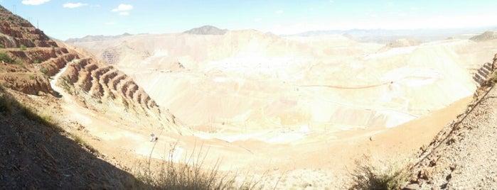 Scenic Lookout - Morenci Mine is one of Morenci Arizona.