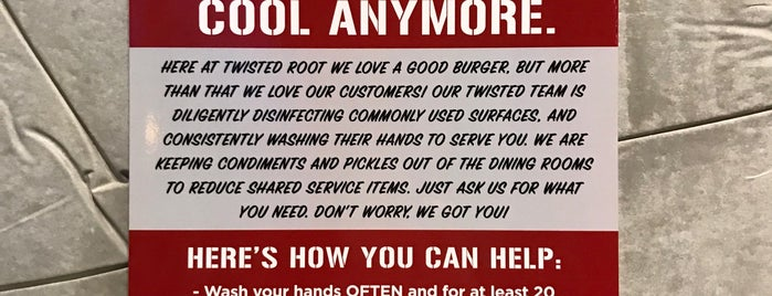 Twisted Root Burger Co. is one of Waco trip.