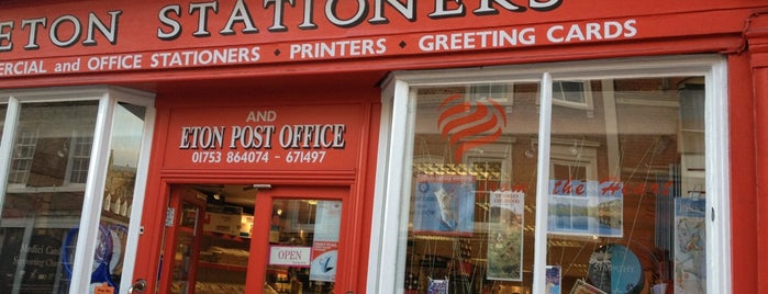 Eton Stationers is one of Locais curtidos por Carl.