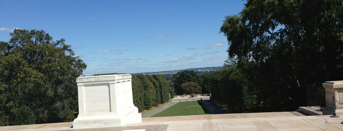 Tomb of the Unknowns is one of Historic Sites - Museums - Monuments - Sculptures.