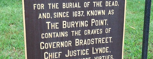 The Burying Point is one of Boston/Salem Map.