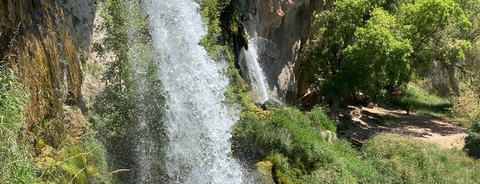 Rifle Falls State Park is one of Breck 2020.
