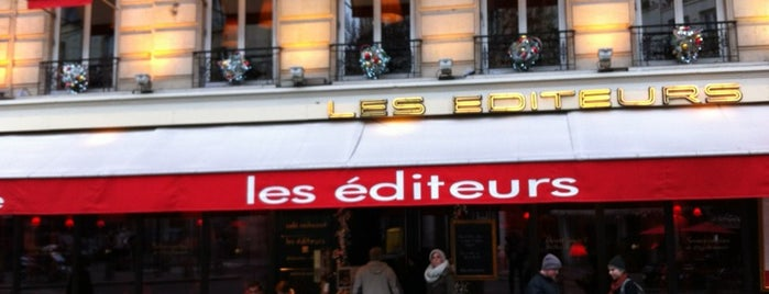 Les Éditeurs is one of Manger à Paris.