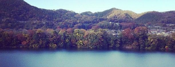 津久井湖 is one of 宮ヶ瀬&津久井湖 ポタ=3=3=3.