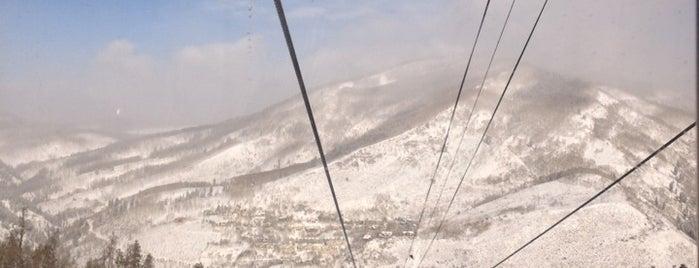 Vail Ski Resort is one of ski bumming.