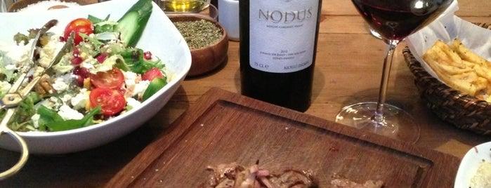 Nusr-Et Steakhouse is one of İstanbul Yemek Turu :).
