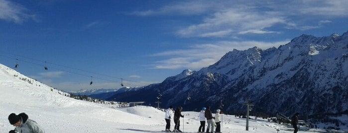 Passo del Tonale is one of Dove sciare.