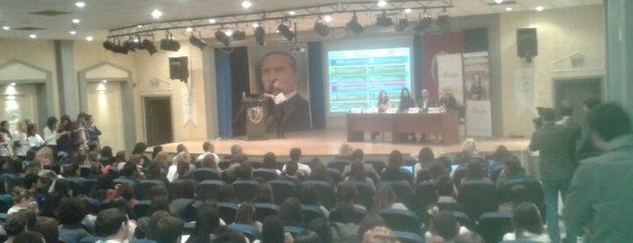 D.E.Ü. İ.İ.B.F Konferans Salonu is one of Tempat yang Disukai Kökten.