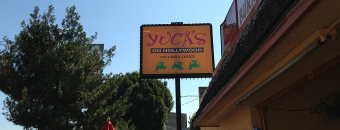 Yuca's On Hollywood is one of Posti salvati di Brent.