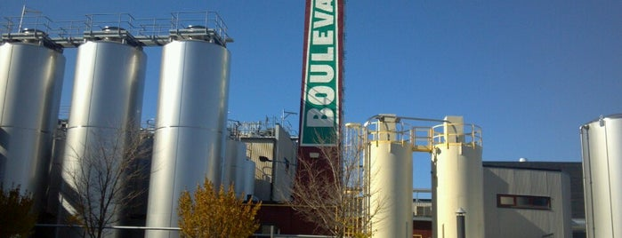 Boulevard Brewing Company is one of Breweries USA.