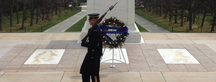 Tomb of the Unknowns is one of Trips / Washington, DC.