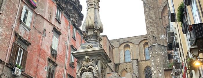 Piazzetta Cardinale Sisto Riario-Sforza is one of NAPLES - ITALY.