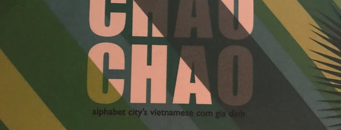Chao Chao is one of USA NYC MAN Alphabet City.