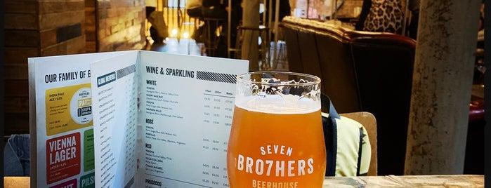 Seven Bro7hers Beerhouse is one of Locais curtidos por Nina.