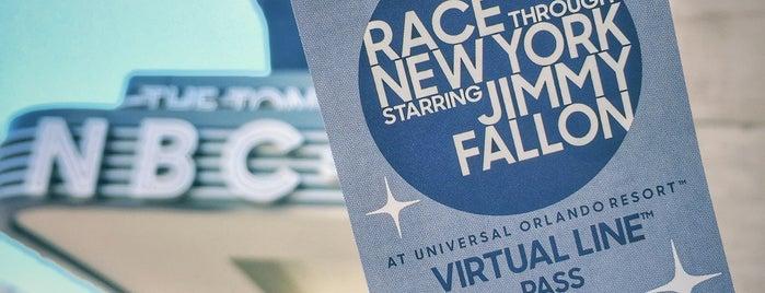 Race Through New York Starring Jimmy Fallon is one of Orte, die Super gefallen.