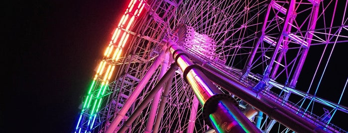 ICON Orlando Observation Wheel is one of Tempat yang Disimpan Alê.