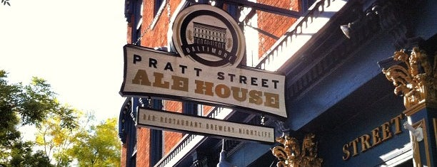 Pratt Street Ale House is one of Baltimore.