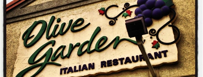 Olive Garden is one of Food and Drink.