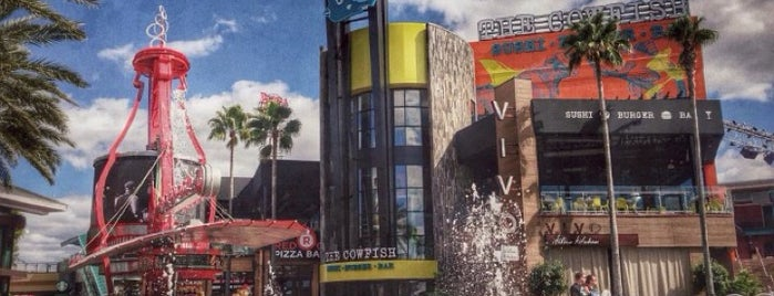 The Cowfish Sushi Burger Bar is one of Orlando shopping.