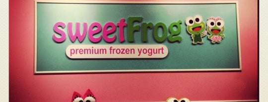 sweetFrog is one of Food and Drink.
