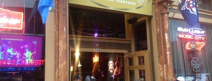 Whiskey Bent Saloon is one of Nashville.