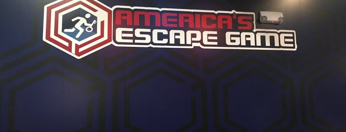 America's Escape Game is one of Orte, die Donna gefallen.