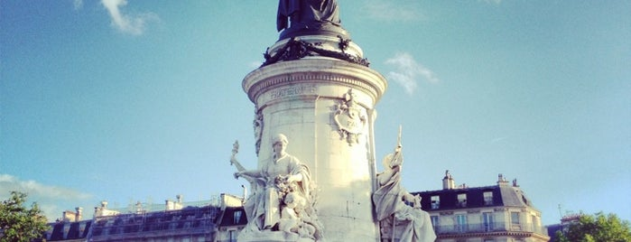 Place de la République is one of Paris ❤️.