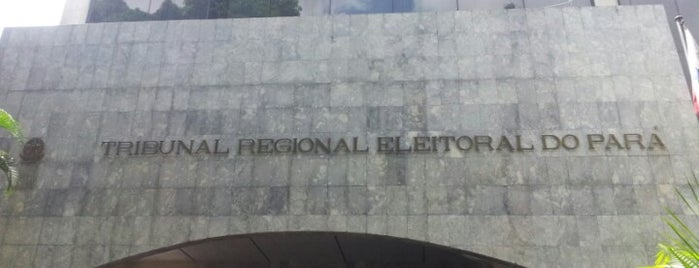 Tribunal Regional Eleitoral - TRE is one of สถานที่ที่ Adonai ถูกใจ.