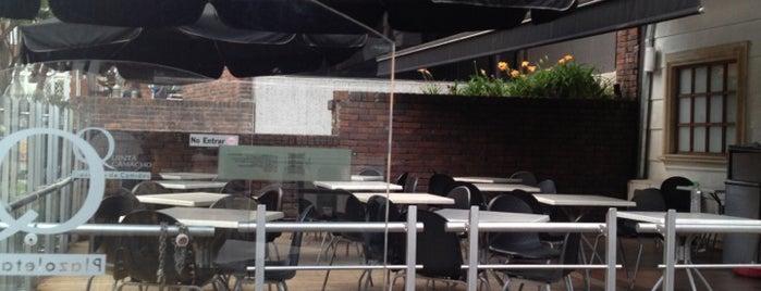 Plazoleta Quinta Camacho is one of Top 10 restaurants when money is no object.