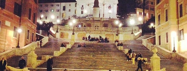Piazza di Spagna is one of When in Rome....