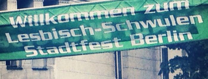 Lesbisch-schwules Stadtfest is one of Berlin.