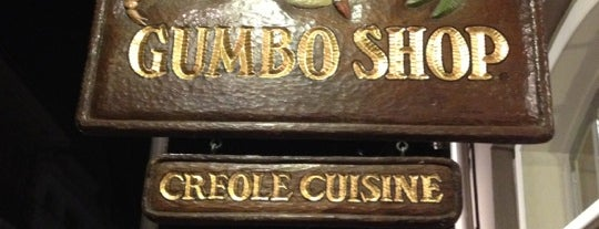 Gumbo Shop is one of NOLA.