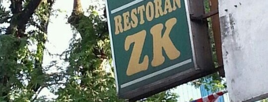 Restoran ZK is one of Lugares favoritos de Rahmat.