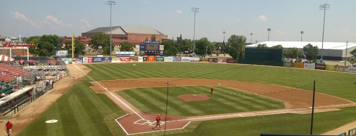 Newman Outdoor Field is one of Independent League Stadiums.