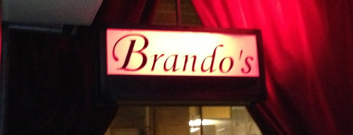 Brando's Speakeasy is one of Chicago hangouts.