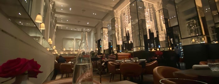 La Dame de Pic is one of Michelin Starred Restaurants in London.