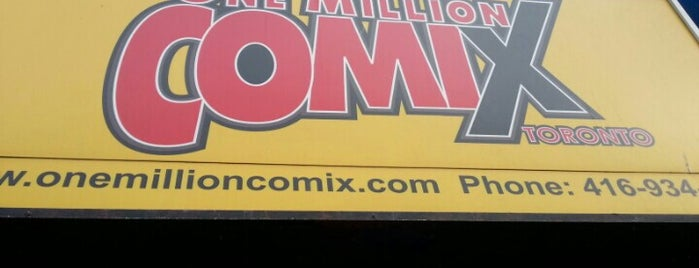 One Million Comix & Next Move Games is one of places to check out.