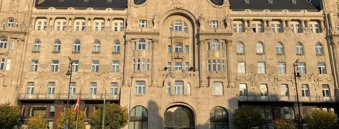 Four Seasons Hotel Gresham Palace Budapest is one of Budapest - Hungary 🇭🇺.