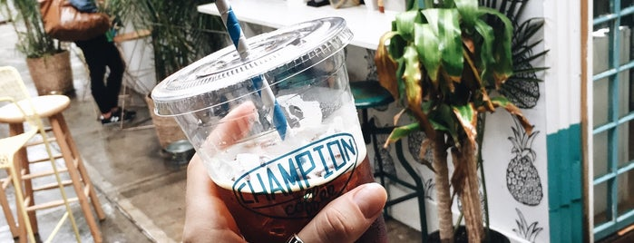 Champion Coffee is one of Arjun 님이 좋아한 장소.