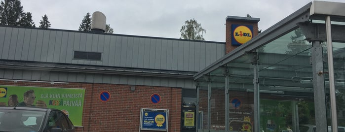 Lidl is one of Orte, die Minna gefallen.