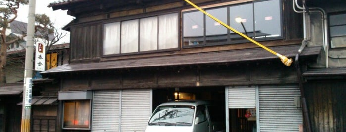 酒ぬのや本金酒造 is one of sake breweries in Suwa.